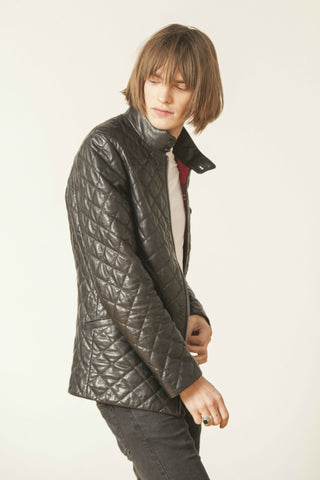 COUNTRY SQUIRE LUXURY LEATHER JACKET