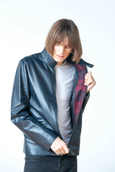 SQUIRE LUXURY LEATHER JACKET