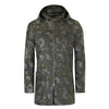 HOOD CAMO LUXURY SUEDE COAT
