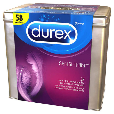 Durex SENSI-THIN Super thin Condom - 58 pc