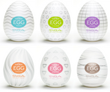 TENGA Regular Strength Egg Masturbator 6 pack