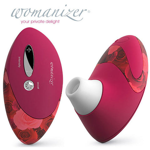 WOMANIZER W500 DELUXE PRO - ROSE