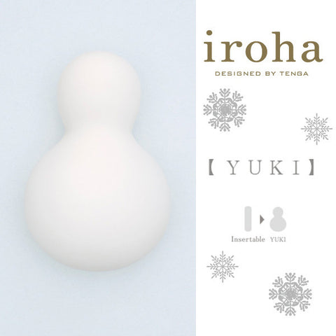 iroha Tenga YUKI Protable Rechargable 4 speed Intimate Massager