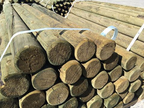 Treated Wood Posts - ACQ