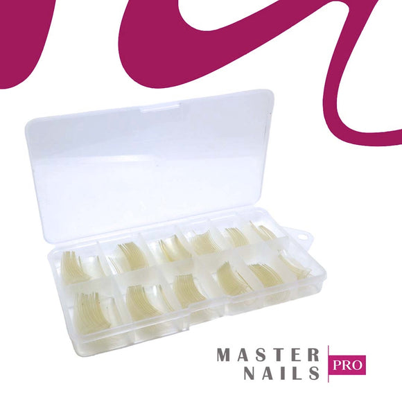 Caja (120) Clear Super Slim French Tip