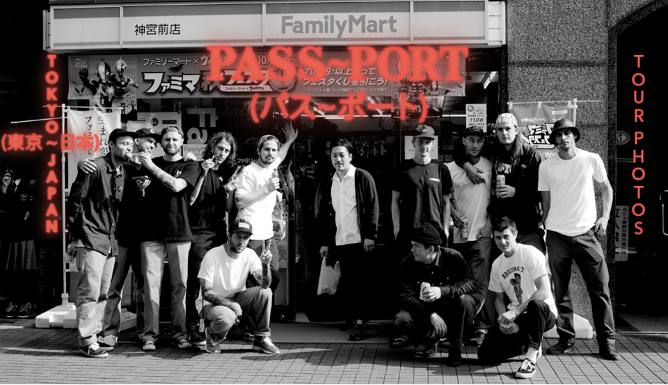 Pass~Port in Japan