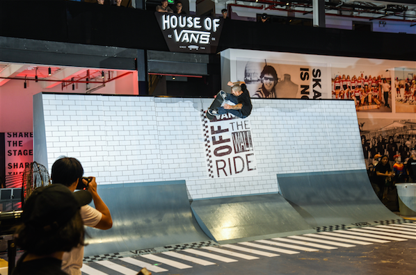 Off The Wallride - House of Vans China