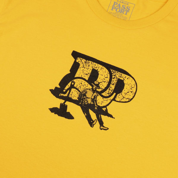 PASS~PORT TOOLS DOWN TEE YELLOW