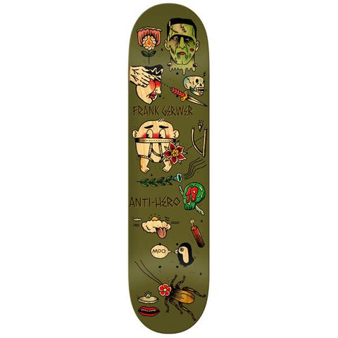 Anti Hero Agrapedope Frank Gerwer Deck 8""