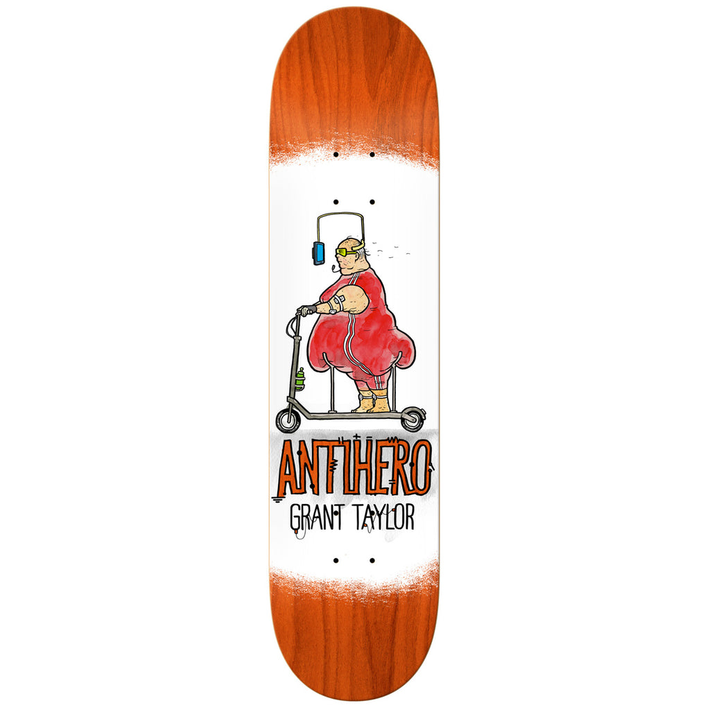 ANTI HERO ELECTRIC LUX GRANT TAYLOR PRO DECK 8""