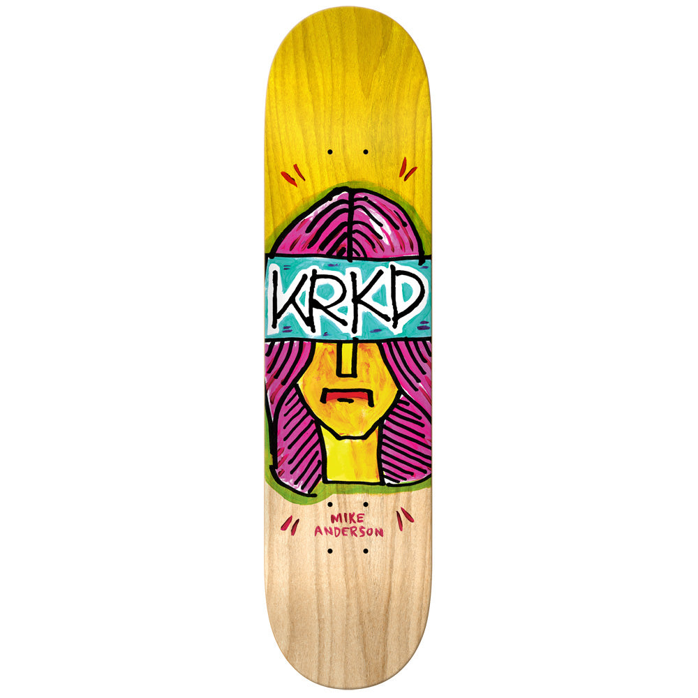 Krooked Mike Anderson Short Sight Pro Deck 8""