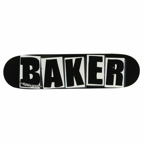 Baker Team Black OG Logo Skateboard Deck