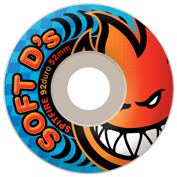 Spitfire Soft D's 92D Wheels