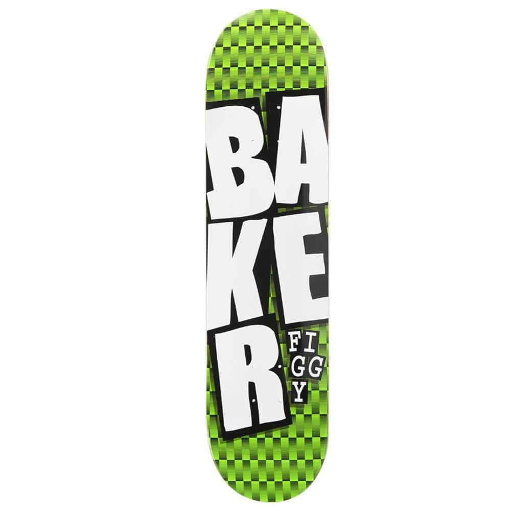 BAKER FIGGY STACKED NAME PRO DECK 7.75""