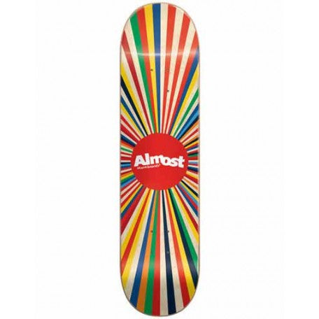 Almost Colour Wheel Deck 8""