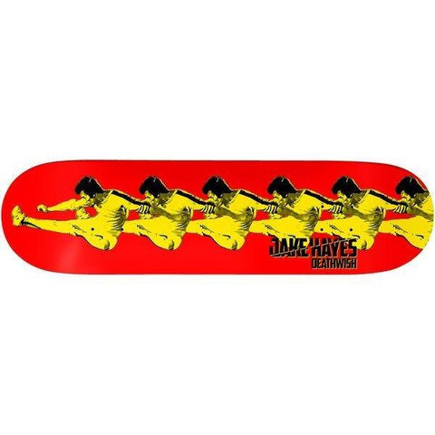 DEATHWISH JAKE HAYES LIKE WATER BRUCE LEE PRO MODEL DECK 8.125""