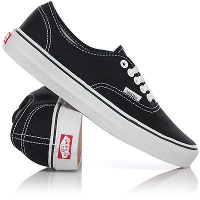 VANS AUTHENTIC BLACK/WHITE