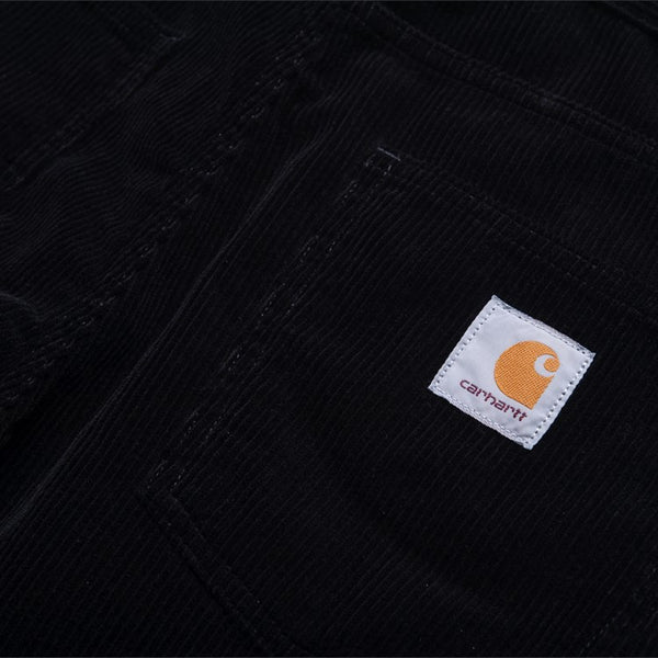 CARHARTT NEWEL PANT RINSED BLACK