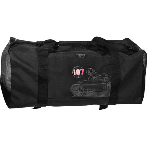 187 KILLER PADS COMMIE WAR MACHINE DUFFEL BAG BLACK