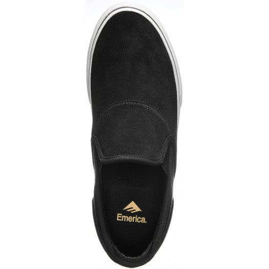 EMERICA WINO G6 SLIP ON BLACK/WHITE/GOLD