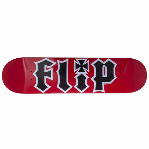 FLIP TEAM DECK HKD SERIES RED 7.5""