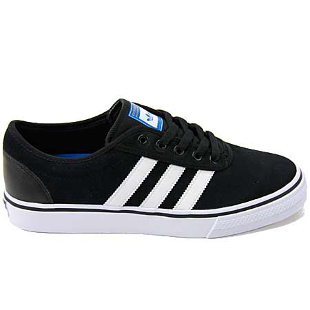 ADIDAS ADIEASE CANVAS BLACK/WHITE