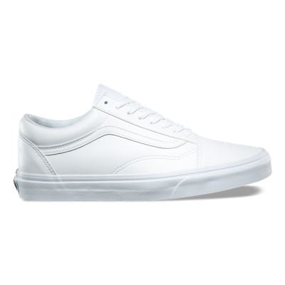 VANS OLD SKOOL CLASSIC CANVAS WHITE/WHITE