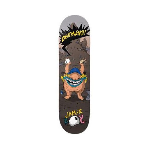 DEATHWISH JAMIE FOY REAL BRUTE PRO DECK 8""