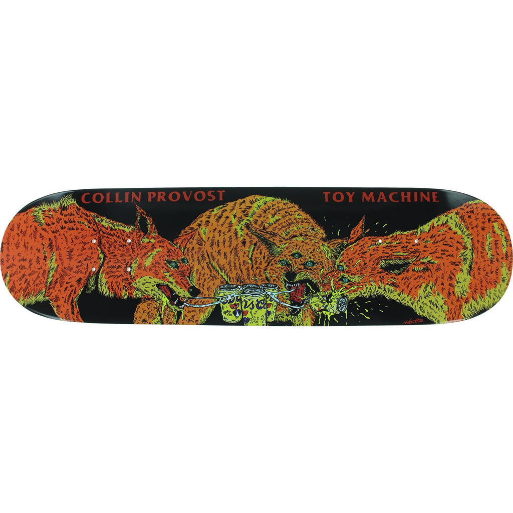 TOY MACHINE COLLIN PROVOST BEER WOLVES 8.0""