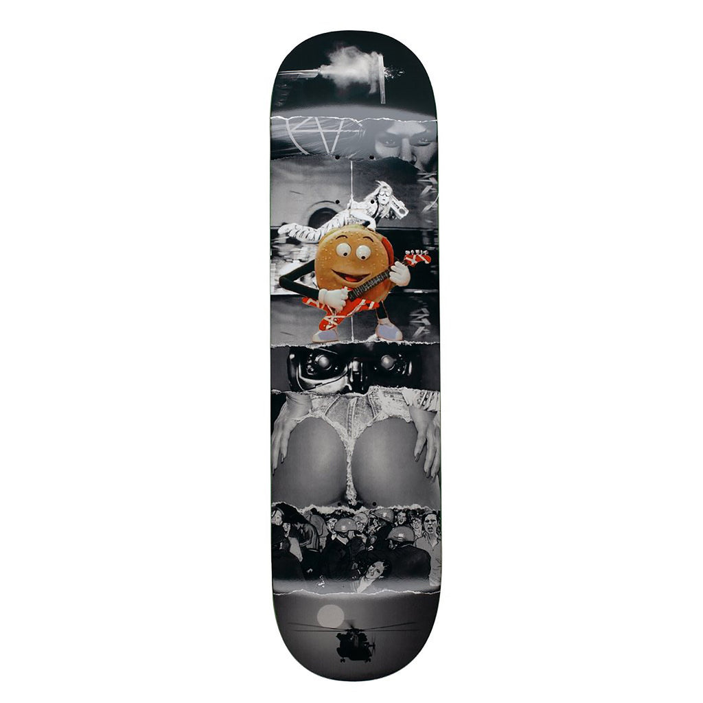 FUCKING AWESOME AVE BURGER BLACK DECK 8.25""
