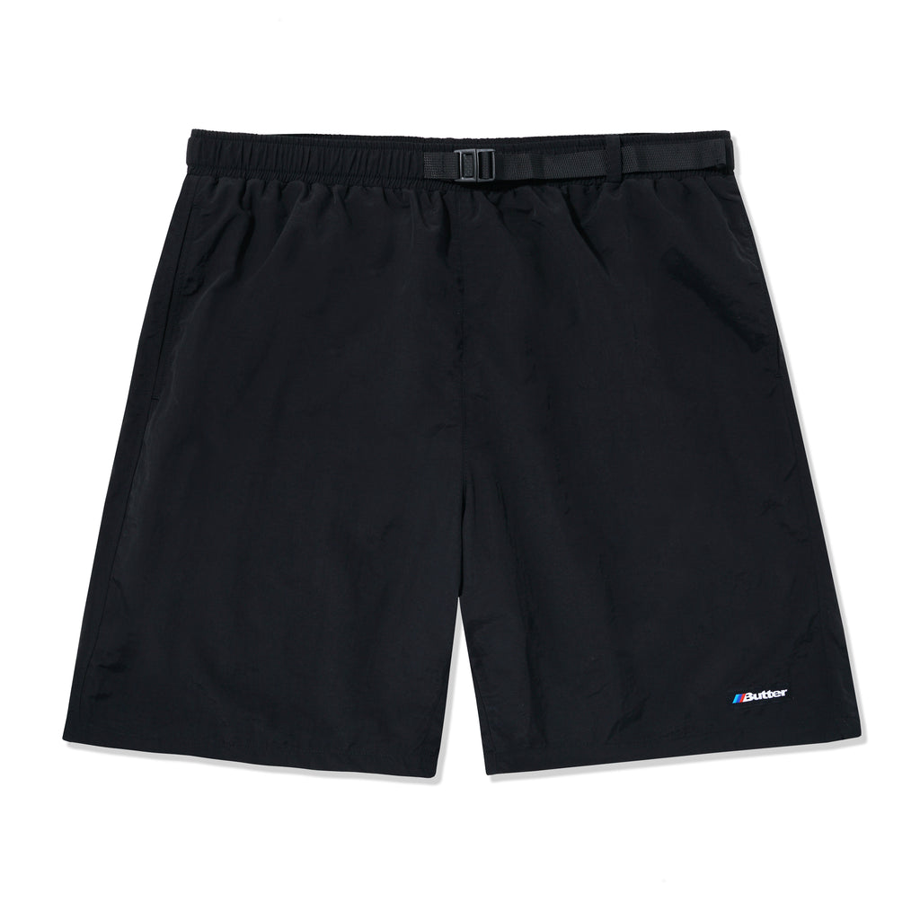 BUTTERGOODS AUTO SHORTS BLACK