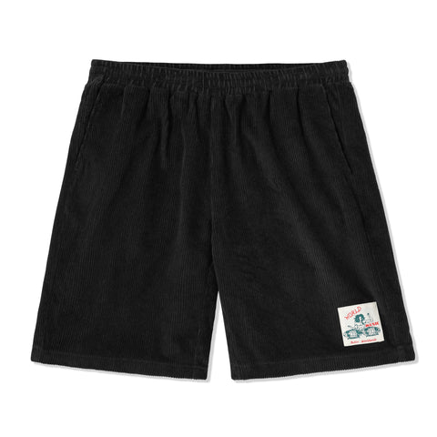 BUTTERGOODS WORLD MUSIC BLACK SHORTS
