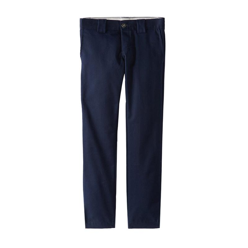 DICKIES KIDS 873 STRAIGHT WORK PANTS NAVY