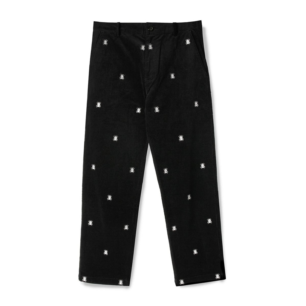 BUTTERGOODS FLY CORDUROY PANTS BLACK