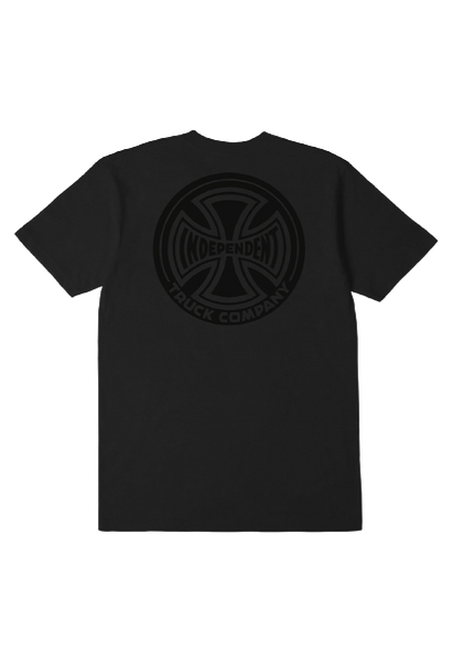 INDEPENDENT ANTE CROSSES TEE WASHED BLACK