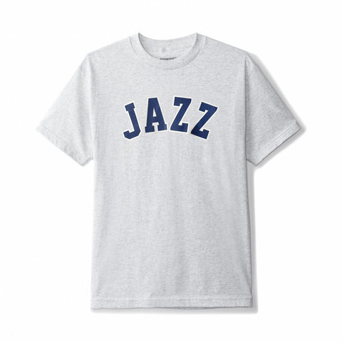 BUTTER GOODS JAZZ T-SHIRT ASH HEATHER