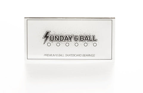 SUNDAY 6 BALLS SKATEBOARD BEARINGS
