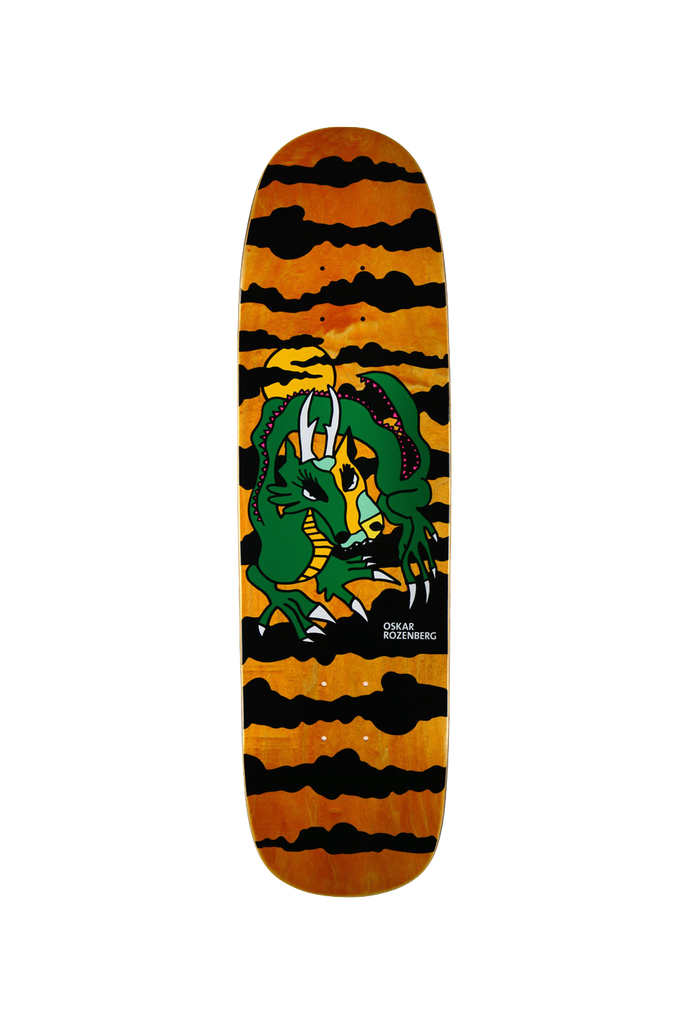 POLAR OSKAR ROZENBERG DRAGON SUNSET DECK & K1 SHAPE 8.625""