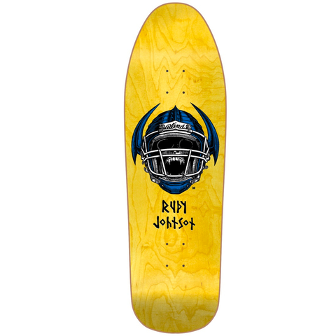 BLIND RUDY JOHNSON JOCK RE ISSUE OLD SCHOOL DECK 9.875""