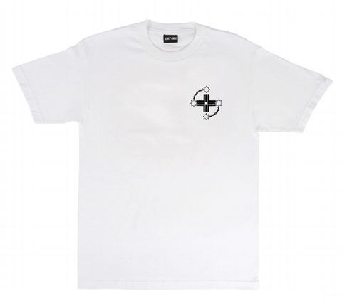 Last Call Dare To Win Tee White