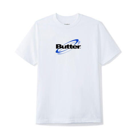 BUTTERGOODS TECHNOLOGY LOGO TEE WHITE