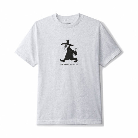 BUTTER GOODS TROUBLE T-SHIRT ASH HEATHER