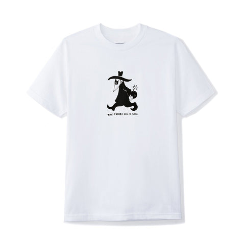 BUTTER GOODS TROUBLE T-SHIRT WHITE