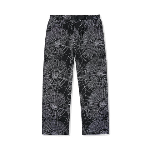 BUTTERGOODS WEB PANTS BLACK