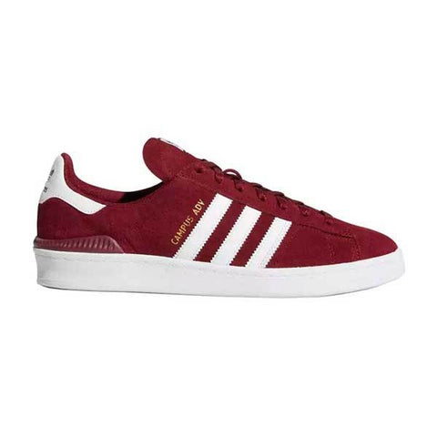 ADIDAS CAMPUS ADV BURGUNDY/WHITE