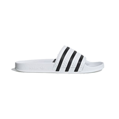 ADIDAS ADILETTE SLIDES WHITE/BLACK