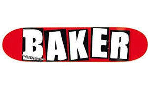 Baker Team White OG Logo Skateboard Deck