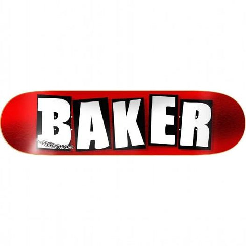 BAKER LOGO RED FOIL 8.25""