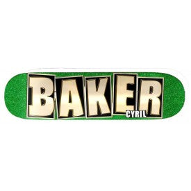 BAKER CYRILL NAME GLITTER PRO DECK 8""