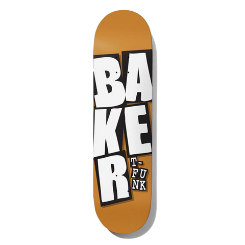 BAKER T-FUNK STACKED NAME CAMEL PRO DECK 8""